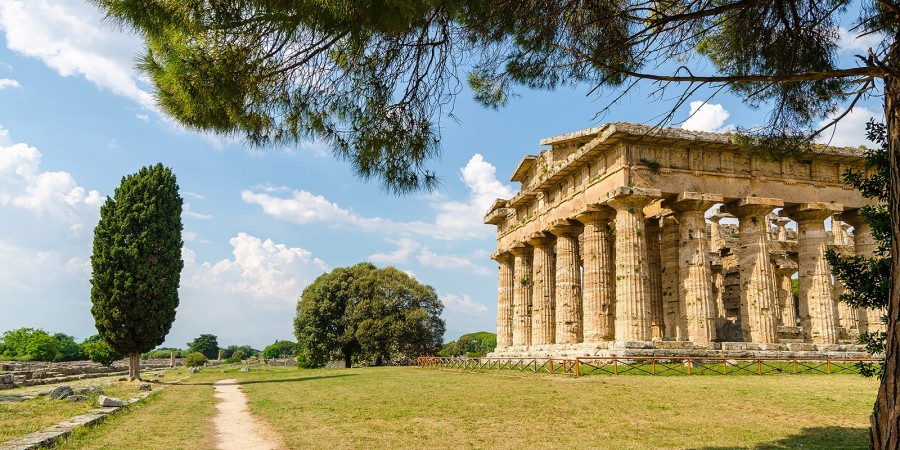 Regular by car Paestum Greek Temples